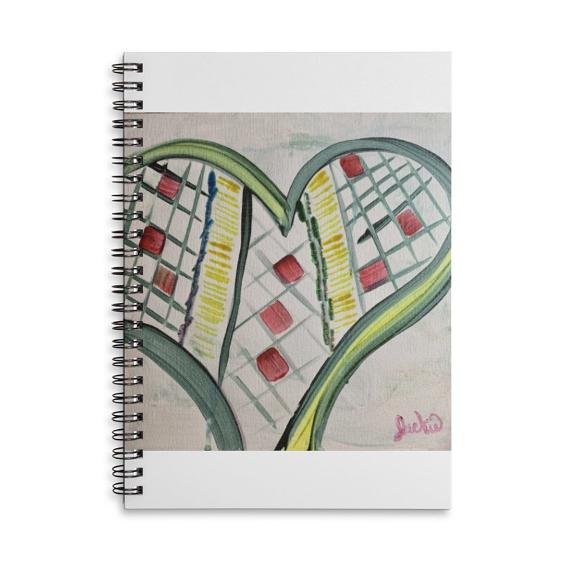 Heart Collaboration all around Accessories Notebook by Miss Jackie Creates