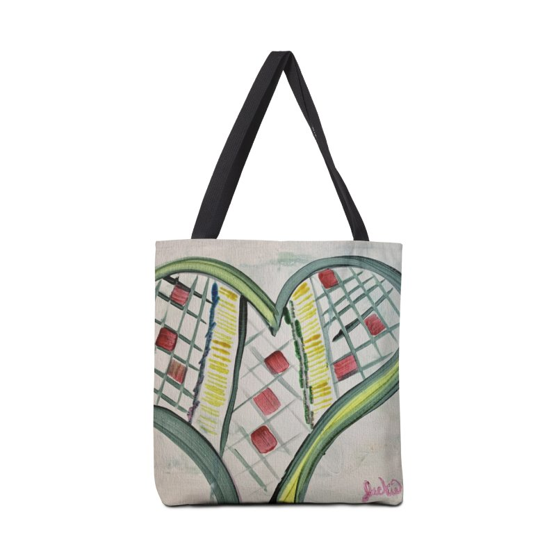 Heart Collaboration all around Accessories Bag by Miss Jackie Creates