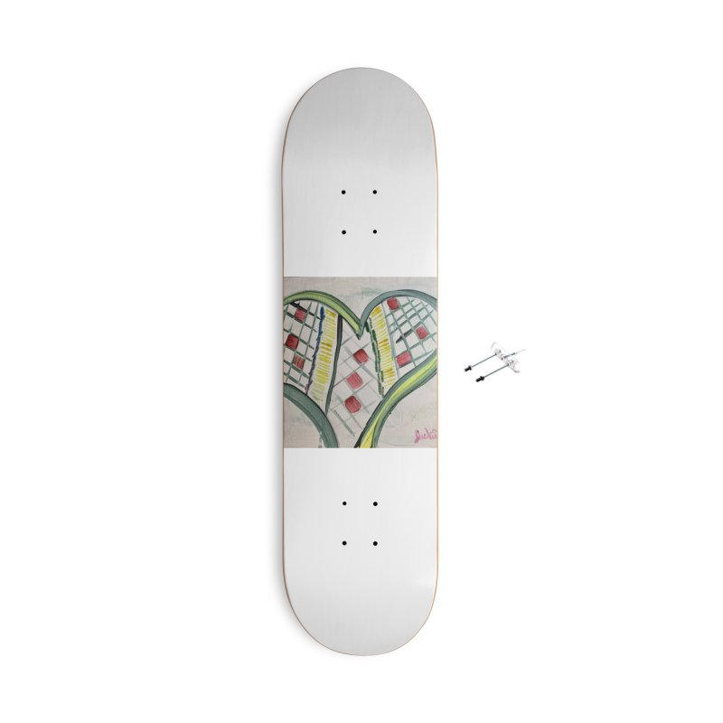 Heart Collaboration all around Accessories Skateboard by Miss Jackie Creates