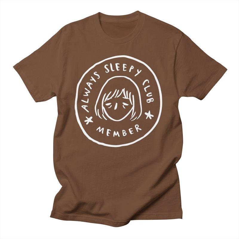 Always sleepy club Men's T-Shirt by Miss Kiwi