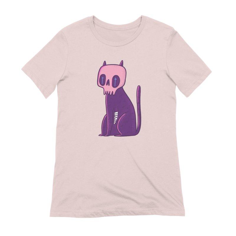 Kitty kitty Women's Extra Soft T-Shirt by Miss Kiwi