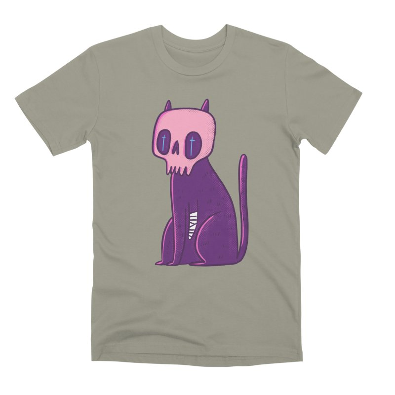 Kitty kitty Men's Premium T-Shirt by Miss Kiwi
