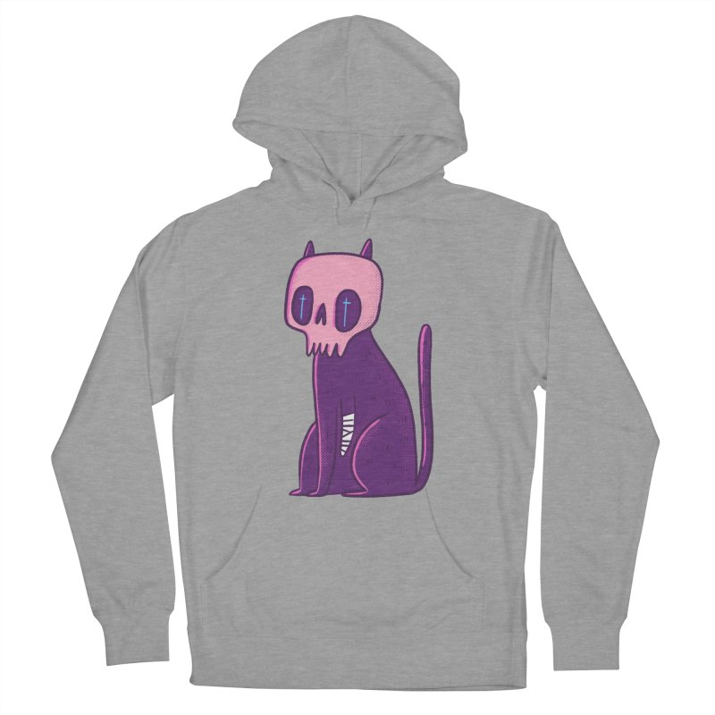 Kitty kitty Women's French Terry Pullover Hoody by Miss Kiwi