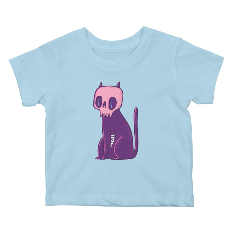 Kitty kitty Kids Baby T-Shirt by Miss Kiwi