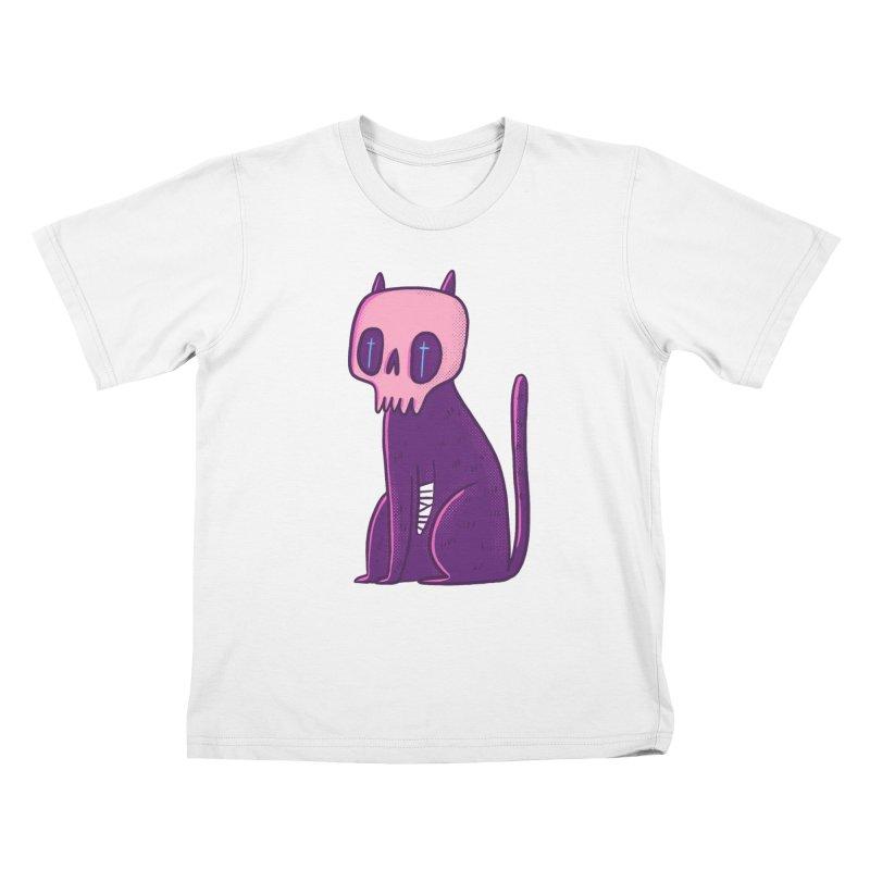Kitty kitty Kids T-Shirt by Miss Kiwi