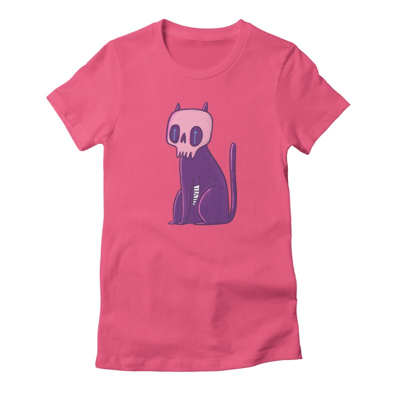 Kitty kitty Women's T-Shirt by Miss Kiwi