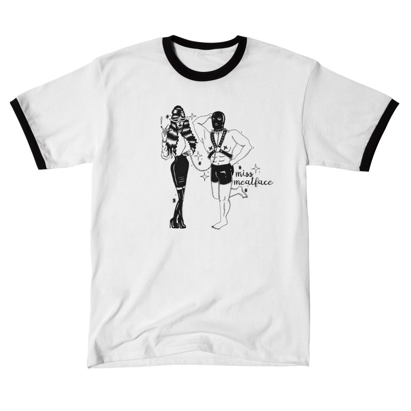 MISS MEATFACE & MEATMAID Men's T-Shirt by Miss Meatface