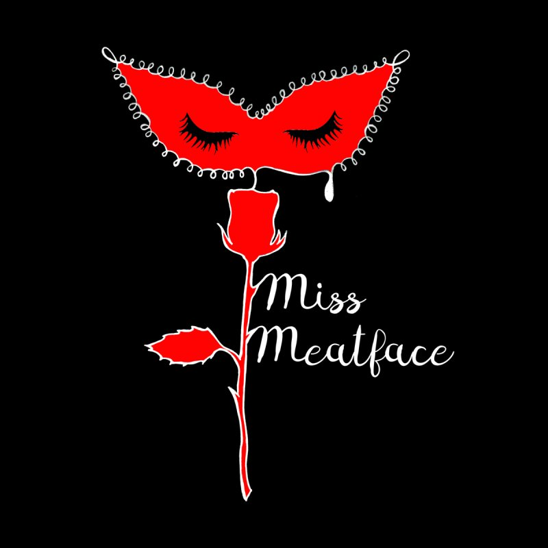 """MISS MEATFACE """"MASK"""" TEE Women's T-Shirt by Miss Meatface"""
