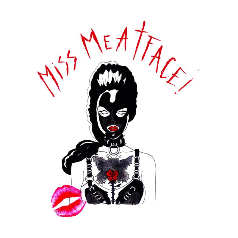 CLASSIC MISS MEATFACE Men's T-Shirt by Miss Meatface