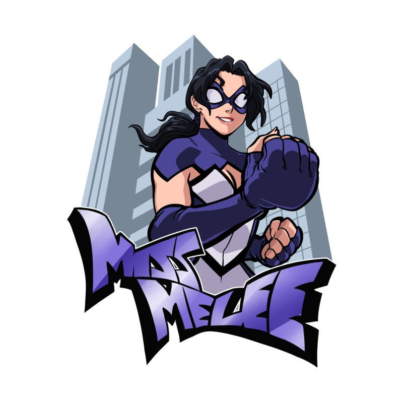 Miss Melee - with background by missmelee's Artist Shop