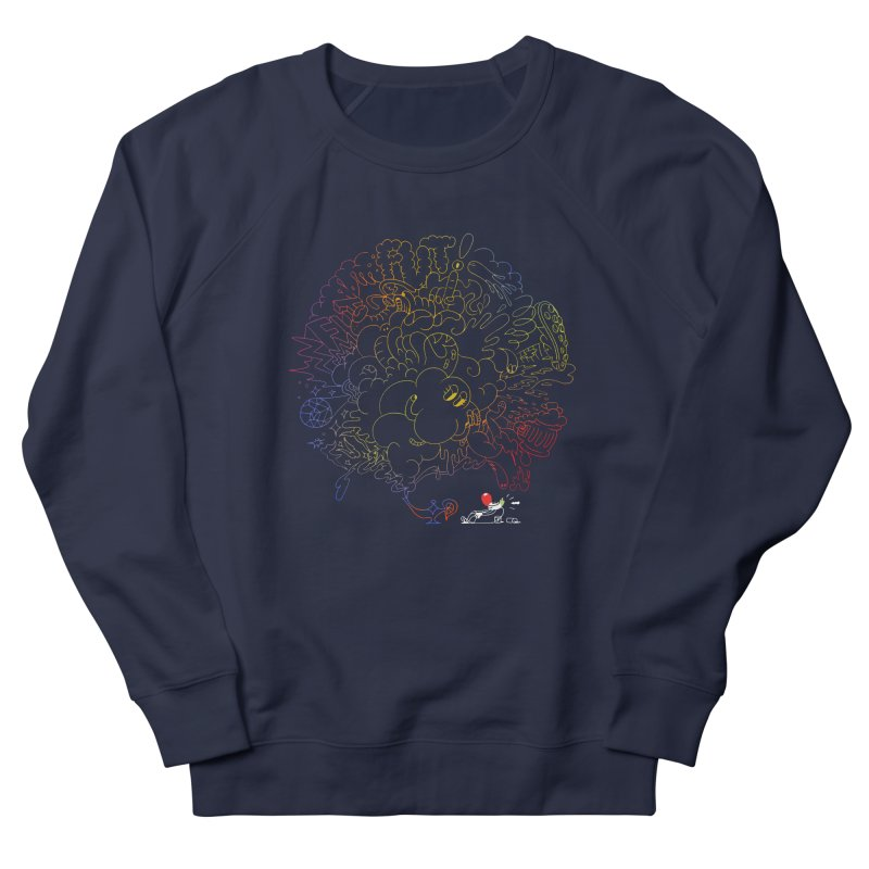 FULLBALL NITES! Women's French Terry Sweatshirt by Mr.ED'store