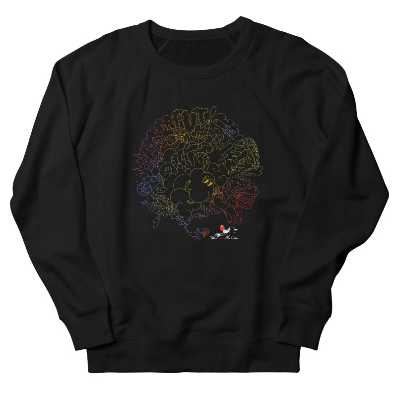 FULLBALL NITES! Men's French Terry Sweatshirt by Mr.ED'store