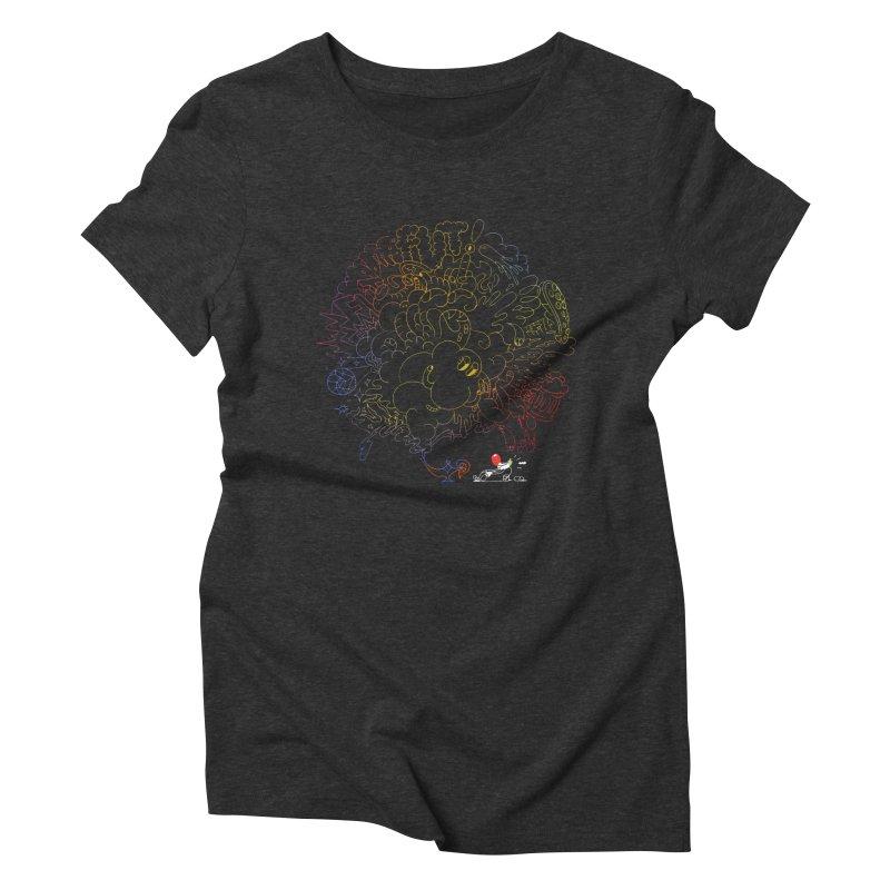 FULLBALL NITES! Women's Triblend T-Shirt by Mr.ED'store
