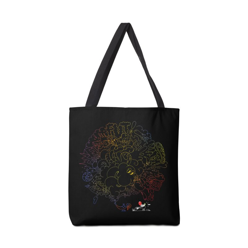 FULLBALL NITES! Accessories Tote Bag Bag by Mr.ED'store