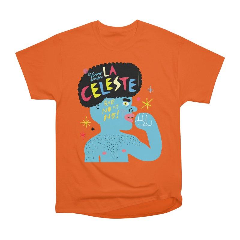 FAN ZONE / FAN CELESTE! Women's Heavyweight Unisex T-Shirt by Mr.ED'store