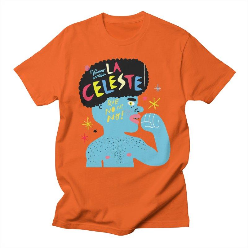 FAN ZONE / FAN CELESTE! Women's Regular Unisex T-Shirt by Mr.ED'store