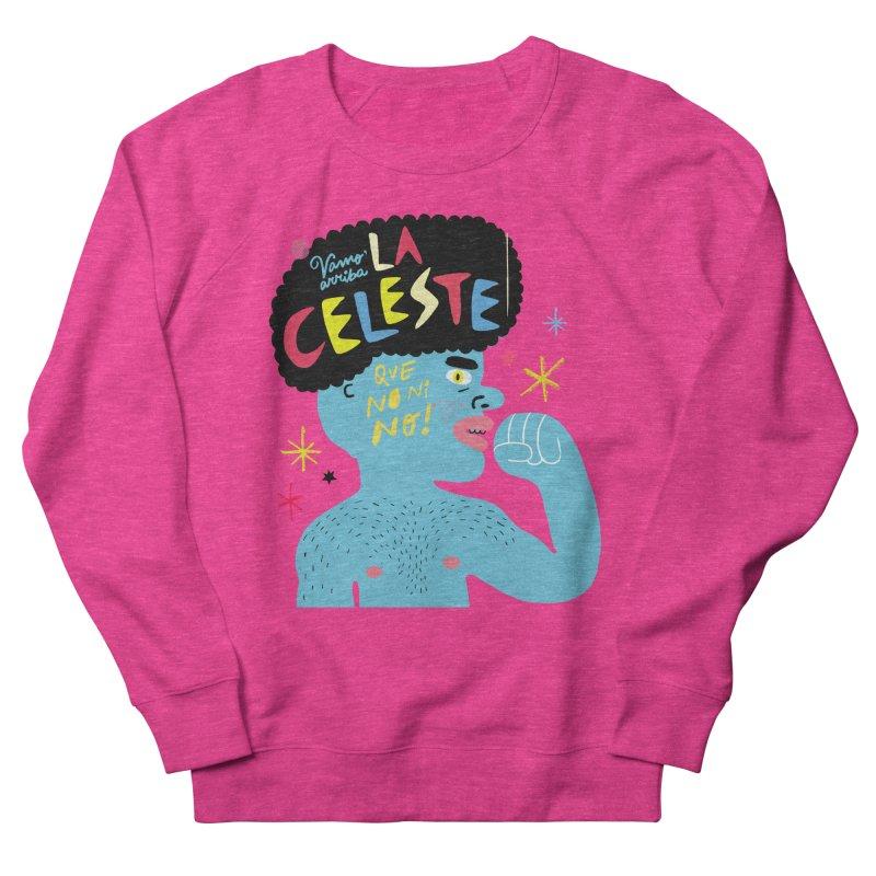 FAN ZONE / FAN CELESTE! Women's French Terry Sweatshirt by Mr.ED'store