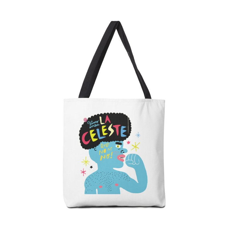 FAN ZONE / FAN CELESTE! Accessories Tote Bag Bag by Mr.ED'store