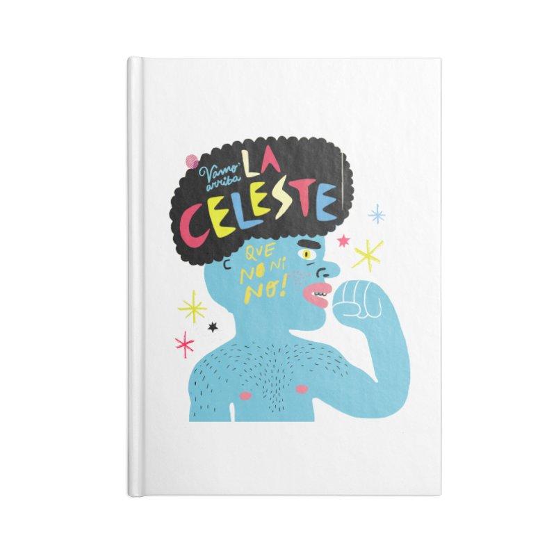 FAN ZONE / FAN CELESTE! Accessories Notebook by Mr.ED'store