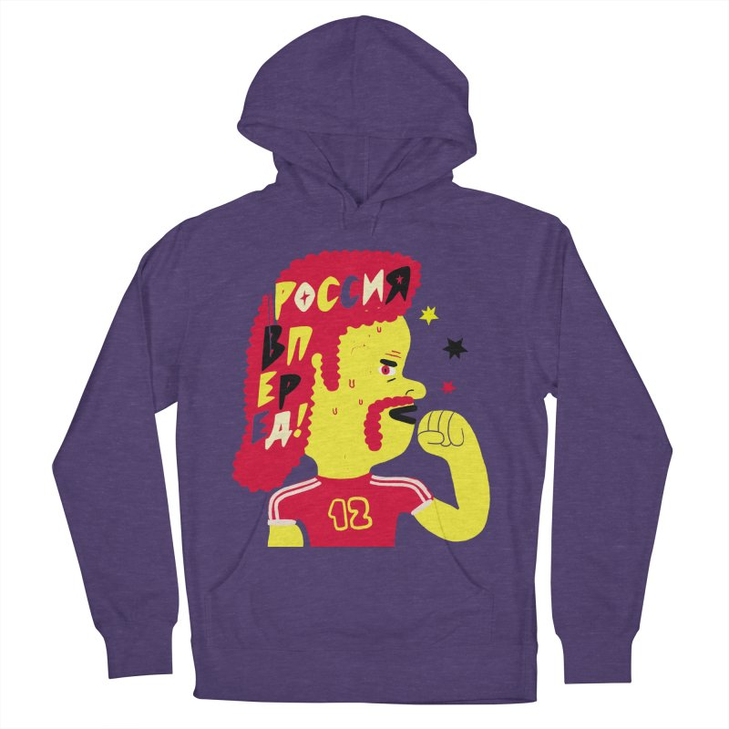 FAN ZONE / RUSSIA! Men's French Terry Pullover Hoody by Mr.ED'store