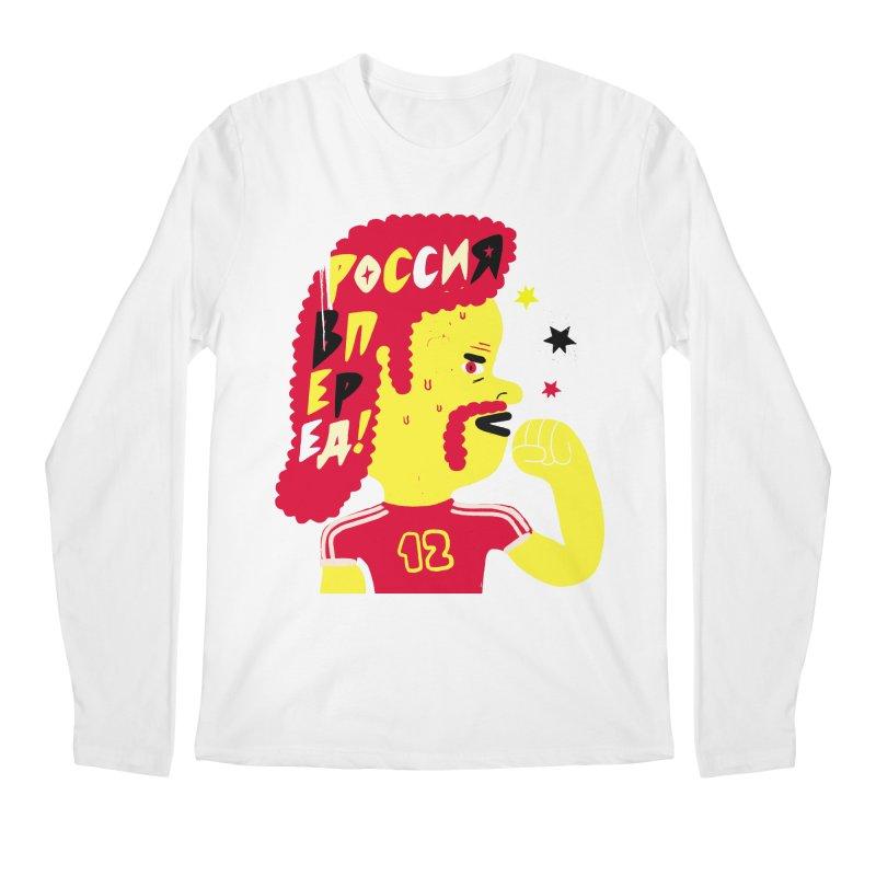 FAN ZONE / RUSSIA! Men's Regular Longsleeve T-Shirt by Mr.ED'store