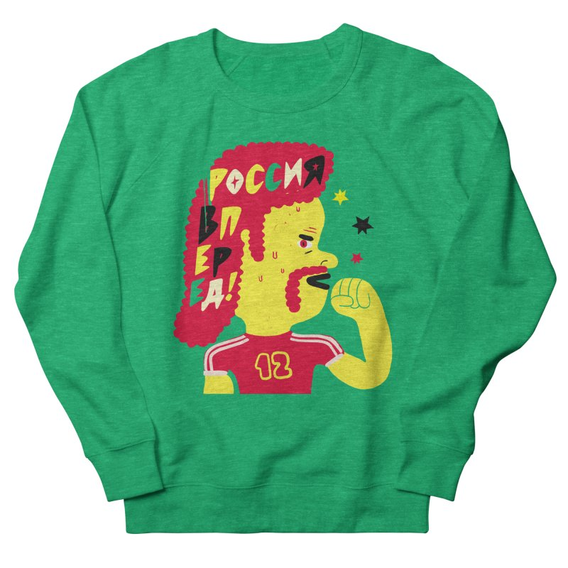 FAN ZONE / RUSSIA! Women's French Terry Sweatshirt by Mr.ED'store