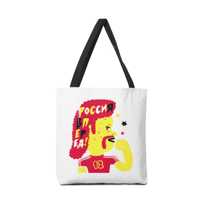 FAN ZONE / RUSSIA! Accessories Tote Bag Bag by Mr.ED'store
