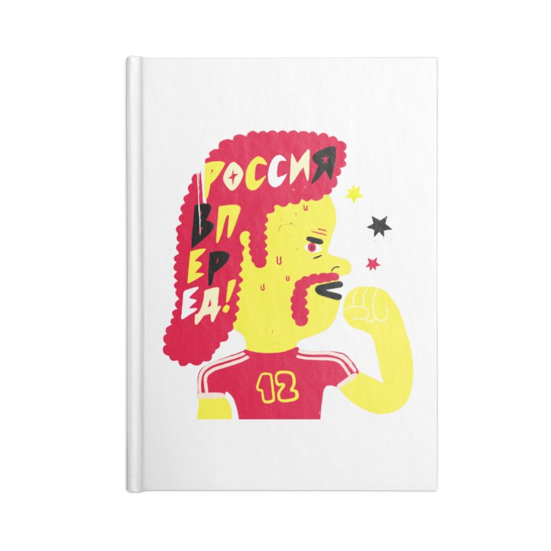 FAN ZONE / RUSSIA! Accessories Notebook by Mr.ED'store