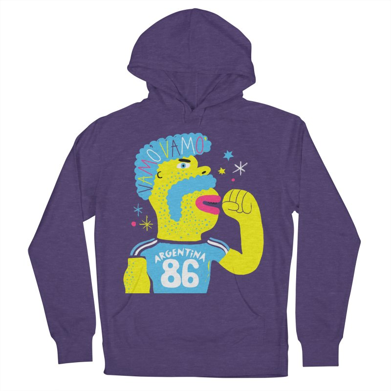 FAN ZONE / ARGENTINA! Women's French Terry Pullover Hoody by Mr.ED'store