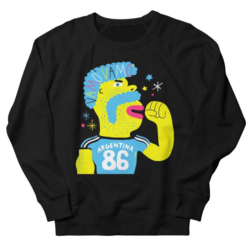 FAN ZONE / ARGENTINA! Women's French Terry Sweatshirt by Mr.ED'store