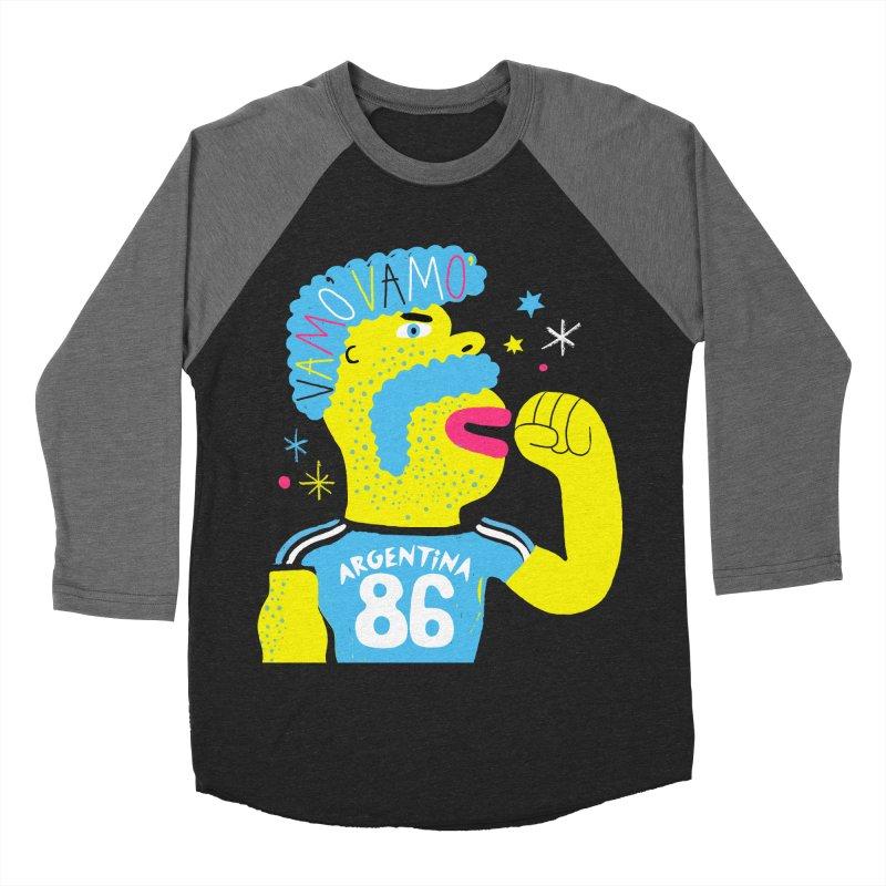 FAN ZONE / ARGENTINA! Women's Baseball Triblend Longsleeve T-Shirt by Mr.ED'store