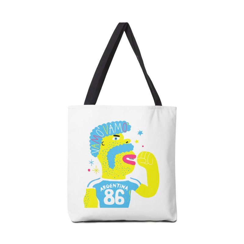 FAN ZONE / ARGENTINA! Accessories Tote Bag Bag by Mr.ED'store