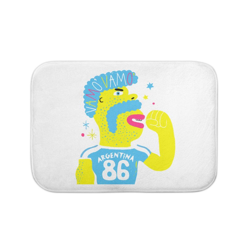 FAN ZONE / ARGENTINA! Home Bath Mat by Mr.ED'store