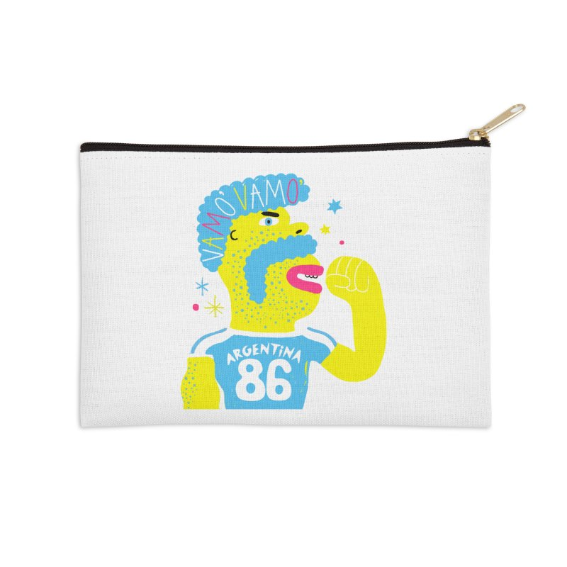 FAN ZONE / ARGENTINA! Accessories Zip Pouch by Mr.ED'store