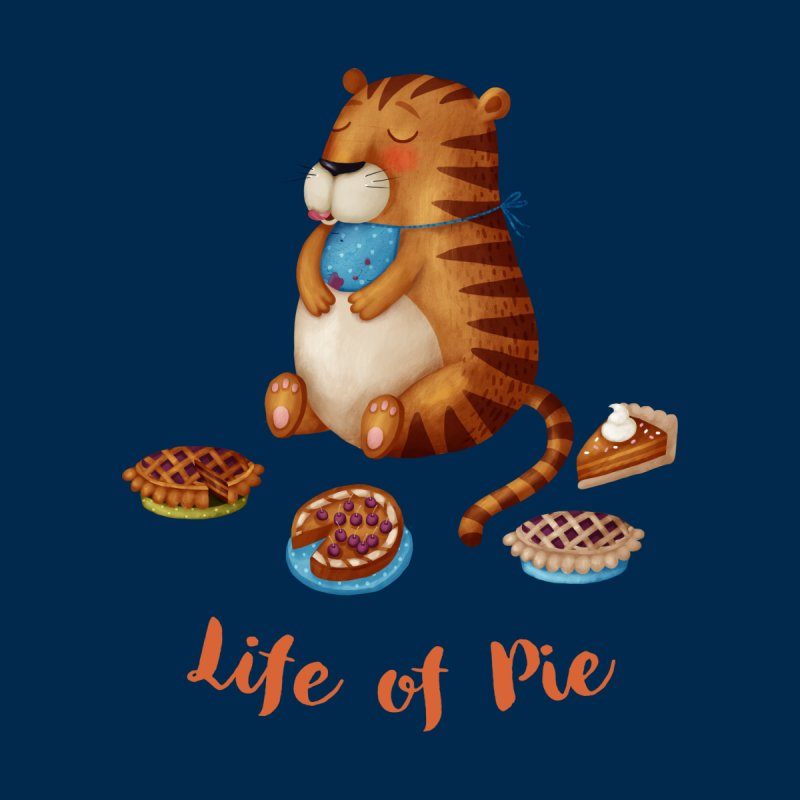 Life of Pie Men's Classic T-Shirt by Literary Swag
