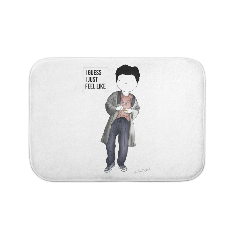 Doddle job I guess I just feel like Home Bath Mat by Misterdressup