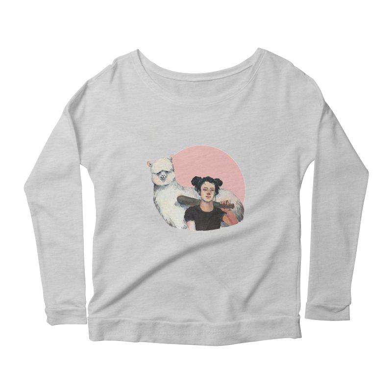 rebecca vollmar partners-in-crime Women's Scoop Neck Longsleeve T-Shirt by Misterdressup