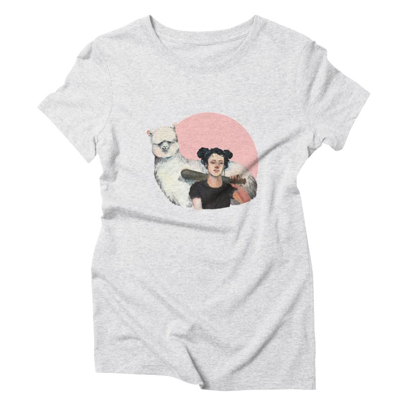 rebecca vollmar partners-in-crime Women's Triblend T-Shirt by Misterdressup