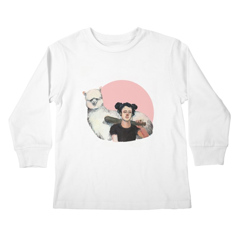 rebecca vollmar partners-in-crime Kids Longsleeve T-Shirt by Misterdressup