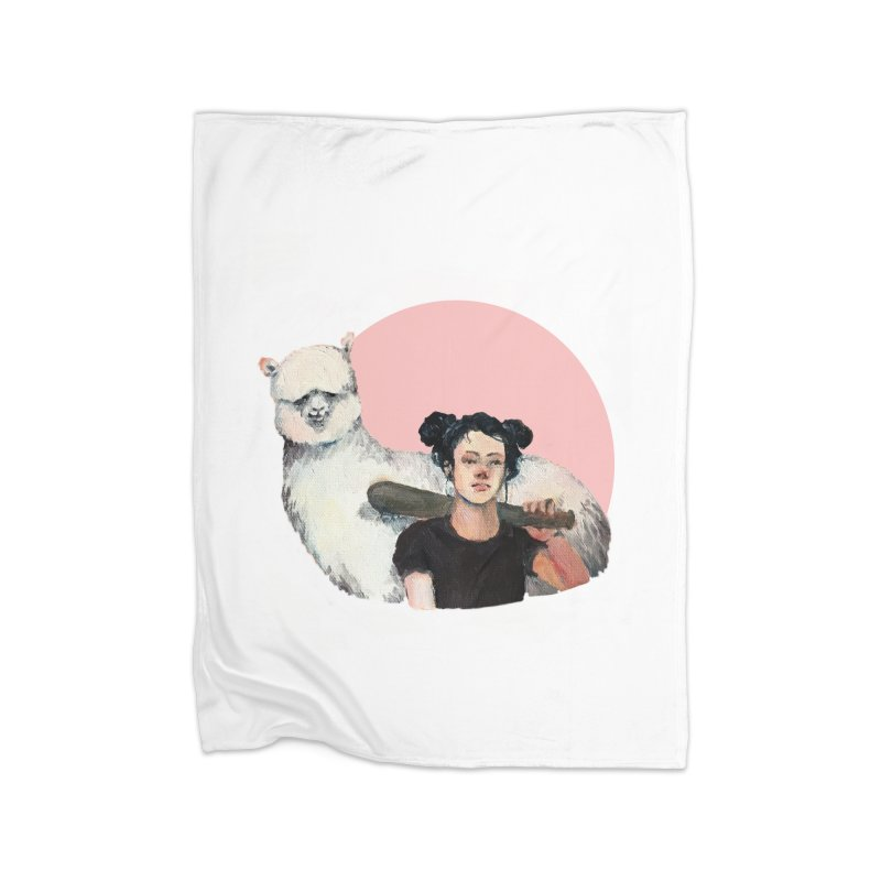 rebecca vollmar partners-in-crime Home Fleece Blanket Blanket by Misterdressup