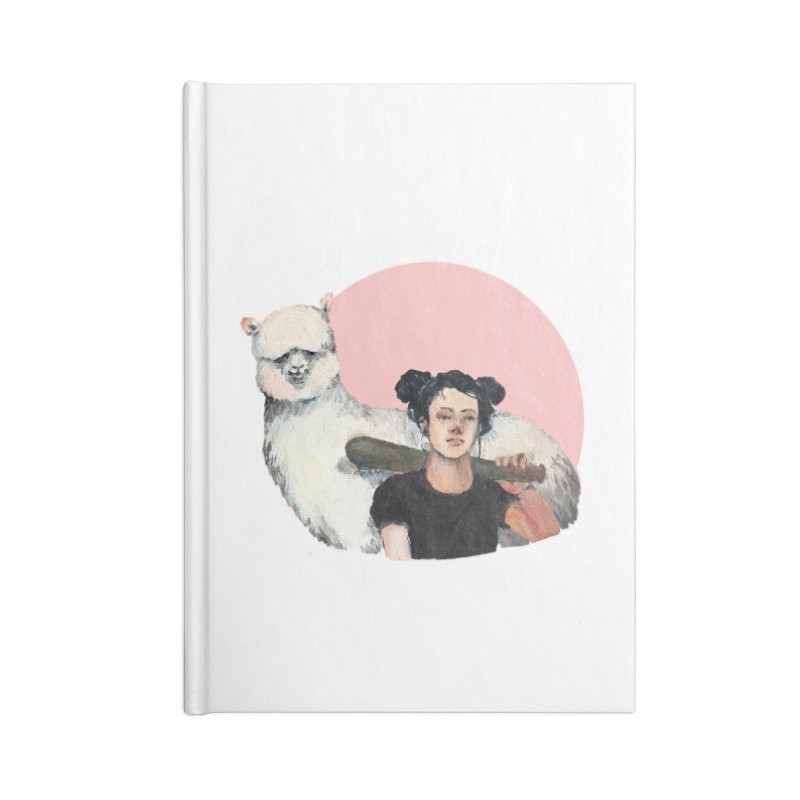rebecca vollmar partners-in-crime Accessories Blank Journal Notebook by Misterdressup