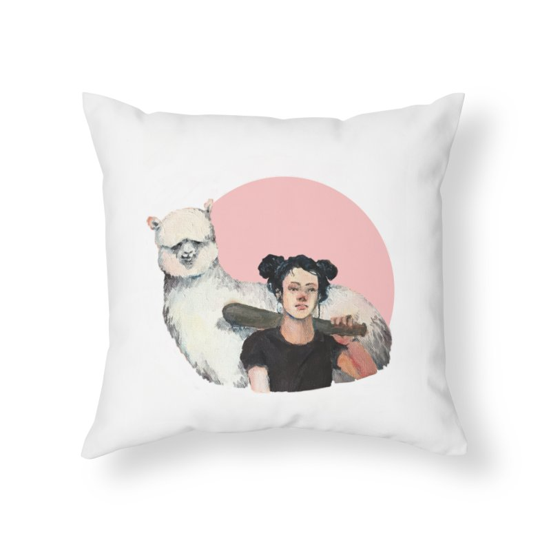 rebecca vollmar partners-in-crime Home Throw Pillow by Misterdressup