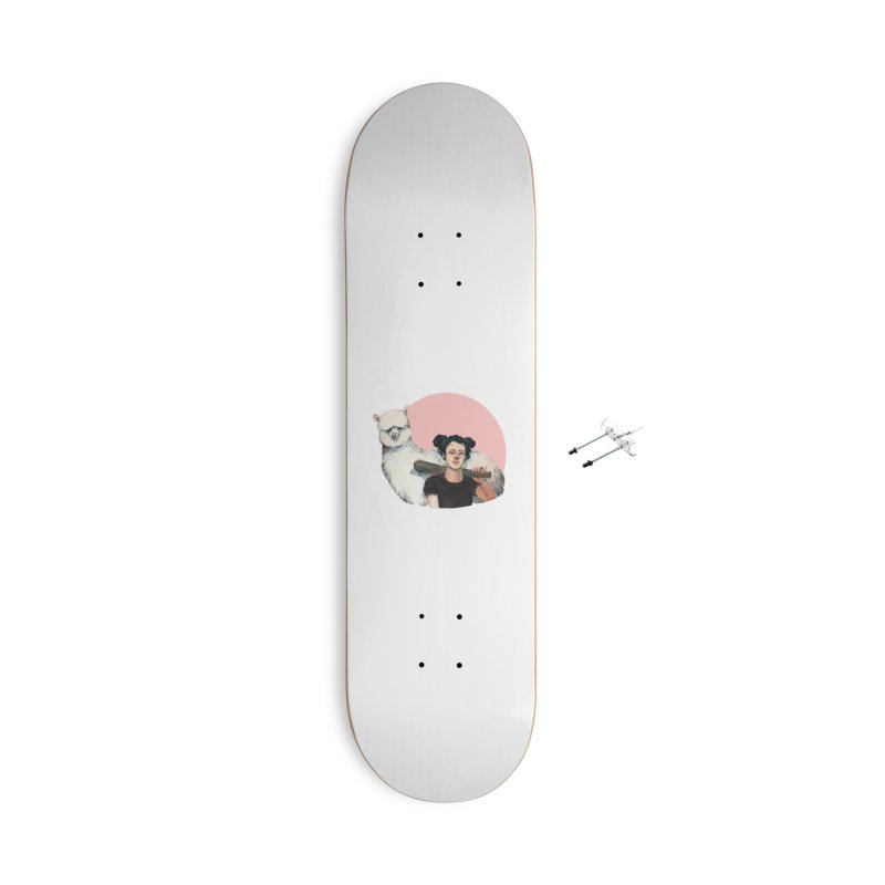 rebecca vollmar partners-in-crime Accessories With Hanging Hardware Skateboard by Misterdressup