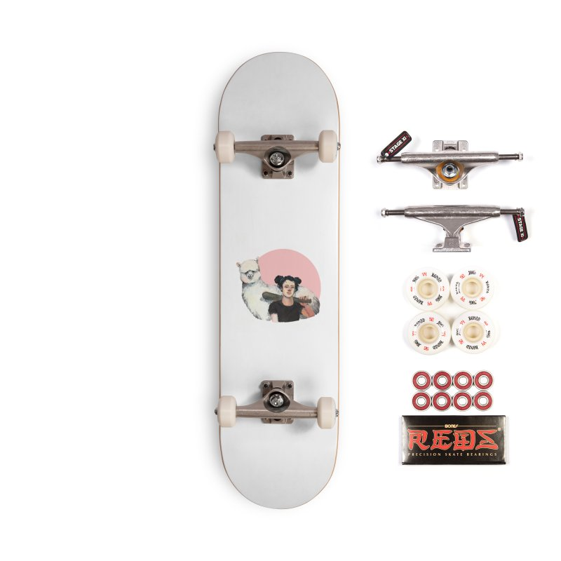 rebecca vollmar partners-in-crime Accessories Complete - Pro Skateboard by Misterdressup