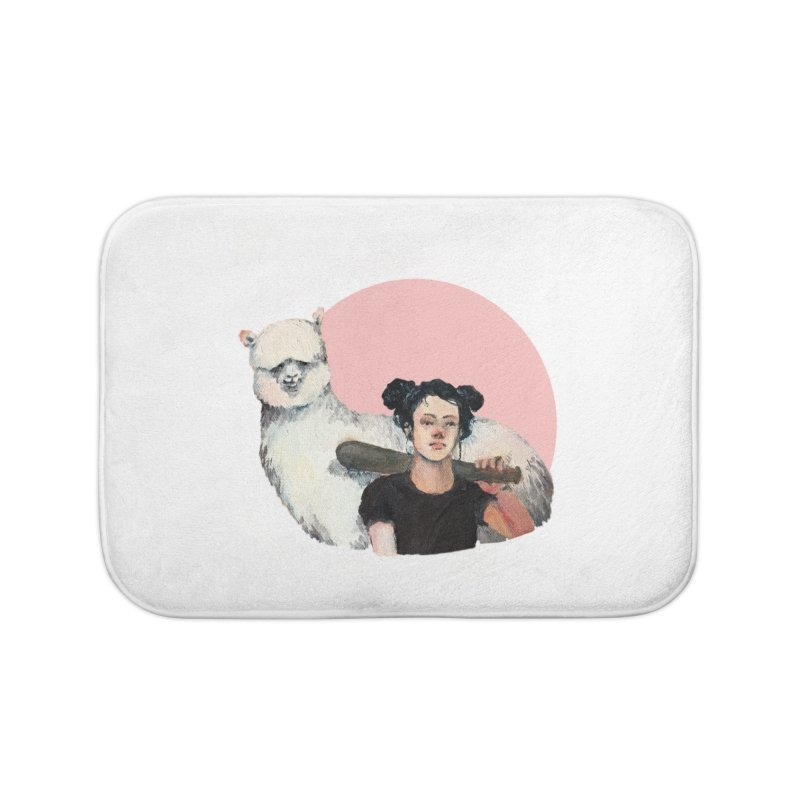 rebecca vollmar partners-in-crime Home Bath Mat by Misterdressup