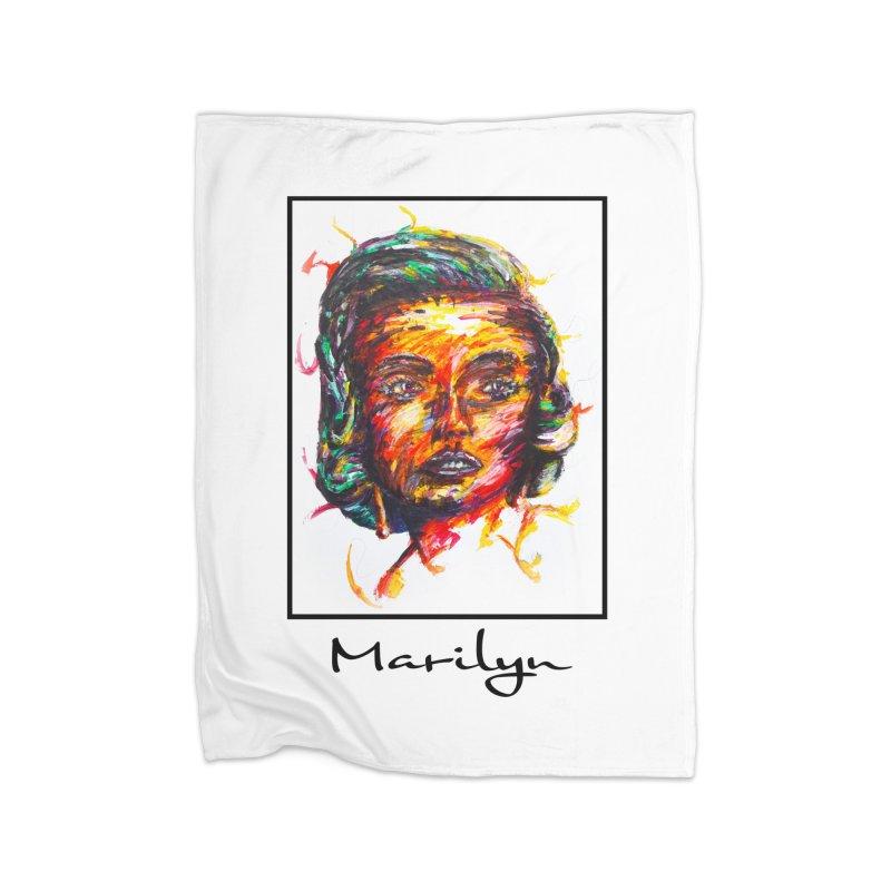 Noah Kayma Home Fleece Blanket Blanket by Misterdressup