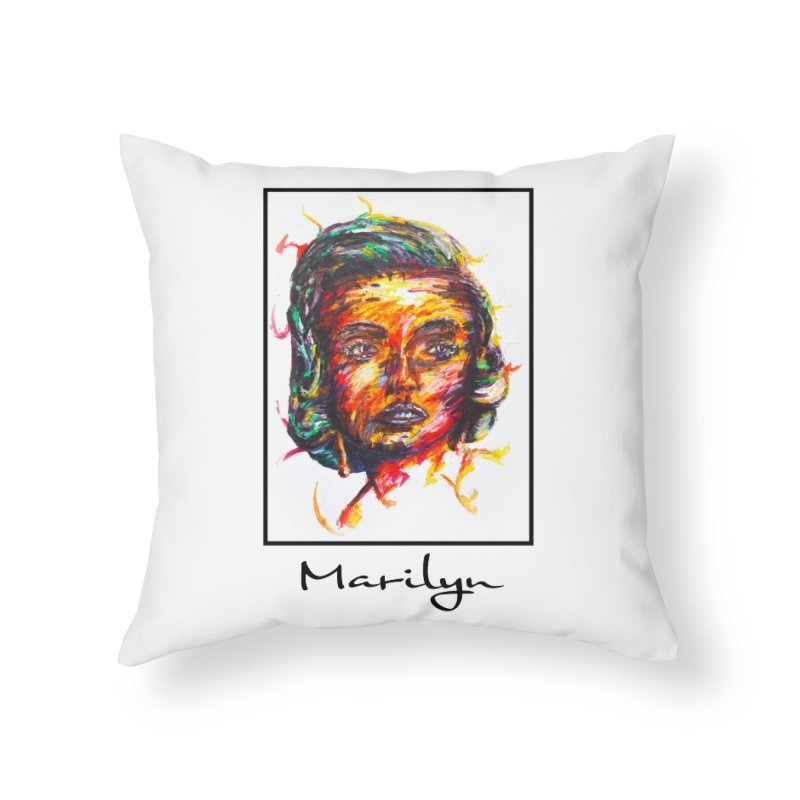 Noah Kayma Home Throw Pillow by Misterdressup