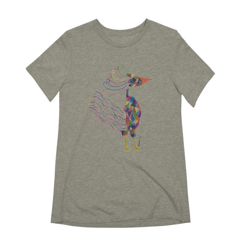 Emma Cedillo Lazcano Women's Extra Soft T-Shirt by Misterdressup