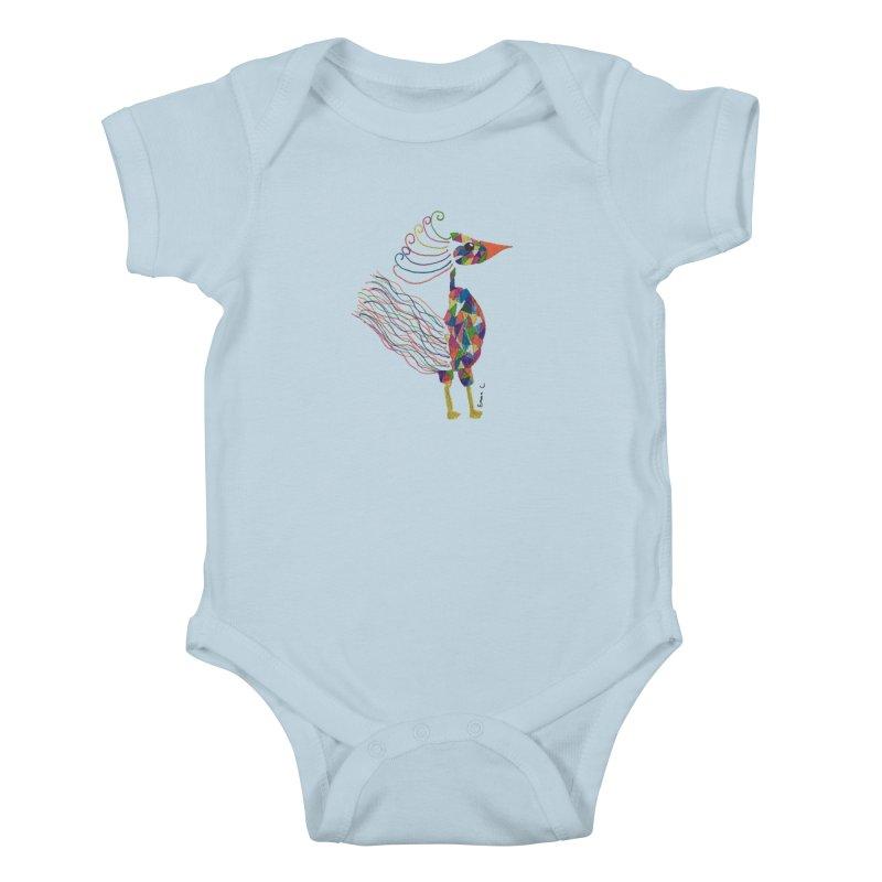 Emma Cedillo Lazcano Kids Baby Bodysuit by Misterdressup