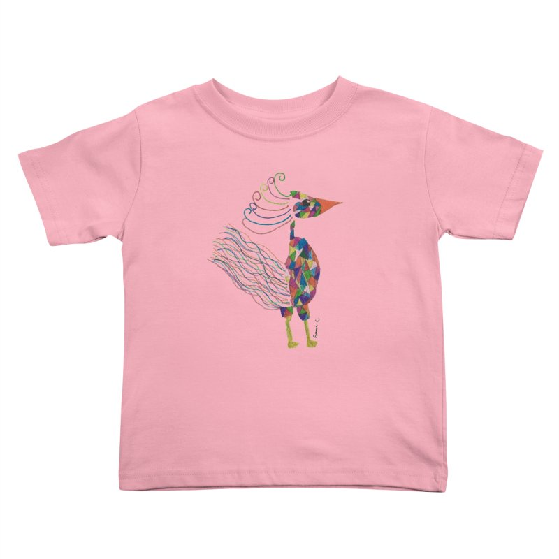 Emma Cedillo Lazcano Kids Toddler T-Shirt by Misterdressup
